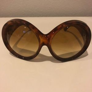 Tom Ford Accessories - Tom Ford Ali Oversized Round Sunglasses